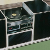 Animated hi-fi system