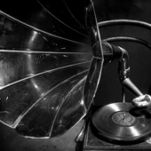 Fritz Lang Maudit animated phonograph